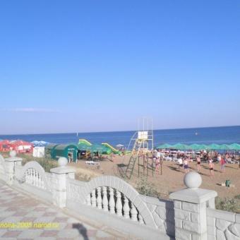 Гостевой дом Магнолия. Пляж п. Береговое