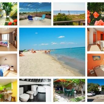 Поповка Крым отель снять жилье недорого у моря