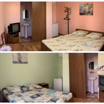 Оленевка Крым снять недорогое жилье мыс Тарханкут